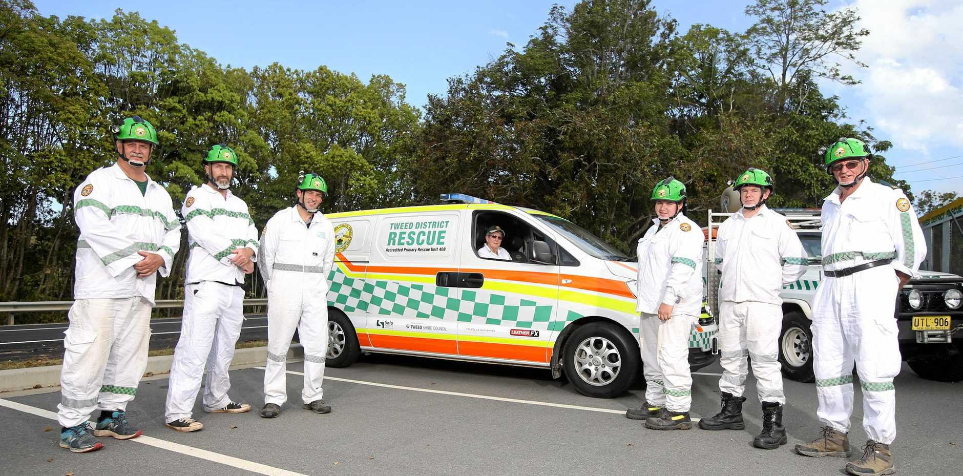 HELPING OUT: The Tweed Volunteer Rescue Association is receiving more call-outs than ever to Mt Warning.