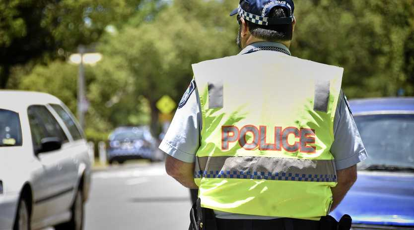 Toowoomba Police traffic branch.  Photo Bev Lacey / The Chronicle