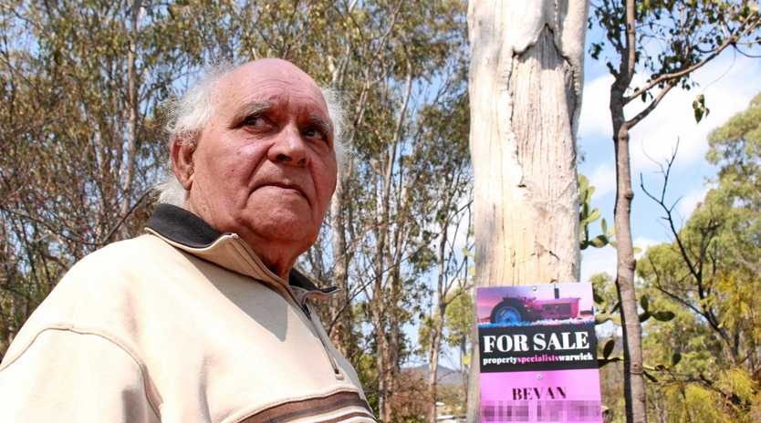 Githabul elder Sam Bonner says an important piece of cultural heritage in Maryvale needs to be protected but is worried the branches of the old tree may pose a risk to people.