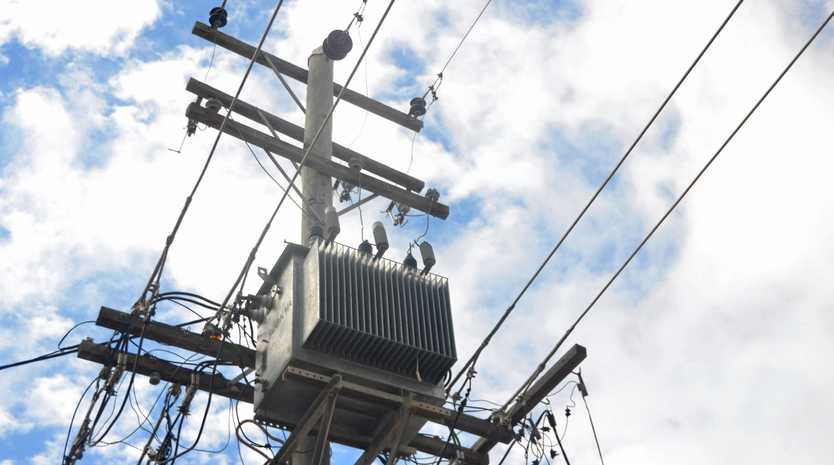 POWER OUTAGE: About 540 homes and business at Yangan are without power.