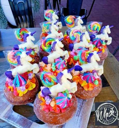 Whisk Yeppoon's unicorn cupcakes.