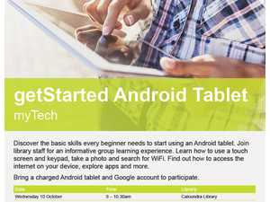 getStarted Android Tablet