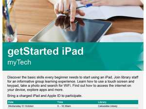 getStarted iPad