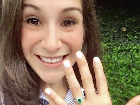 Wendy Martinez had only recently become engaged. Picture: Facebook
