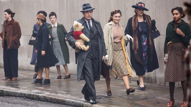 Christopher Robin stars Ewan McGregor and Winnie-The-Pooh.