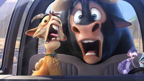 Scene from animated film Ferdinand