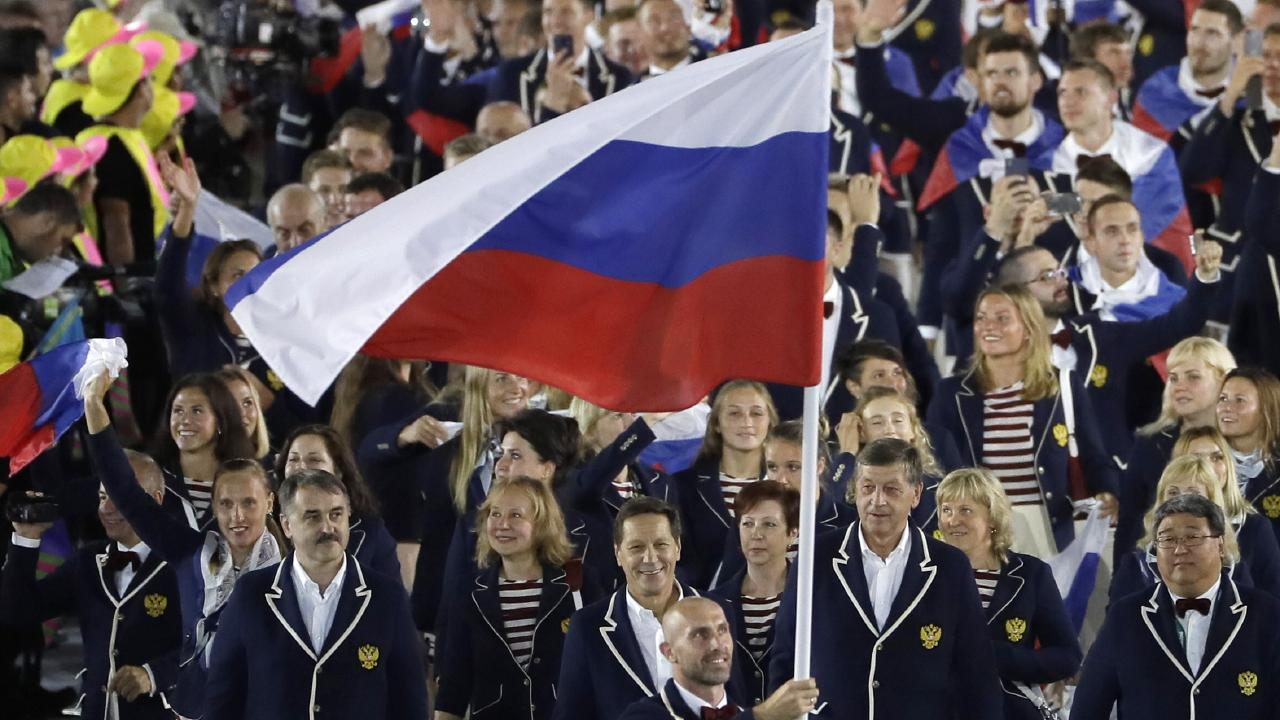 Russian athletes are back in buusiness after three years.