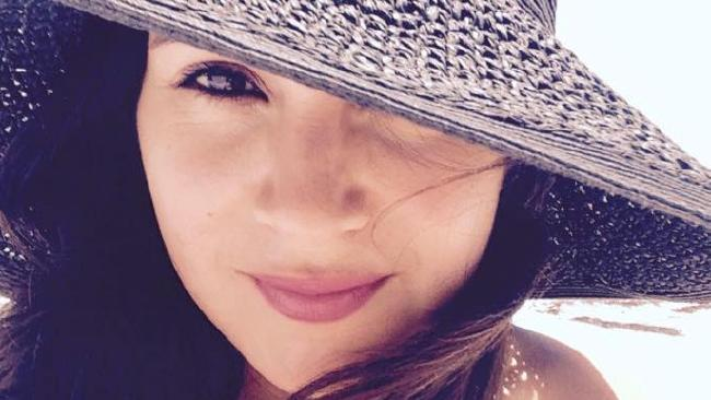 Wendy Martinez was stabbed to death while jogging and later collapsed in a takeaway restaurant. Picture: Facebook