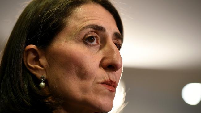Premier Gladys Berejiklian takes charge to end 'white hot' infighting.