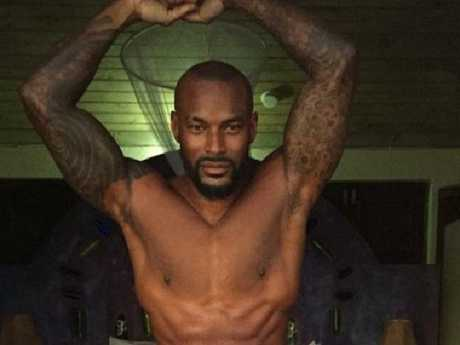Kanye West is not happy with model, Tyson Beckford. Picture: Supplied
