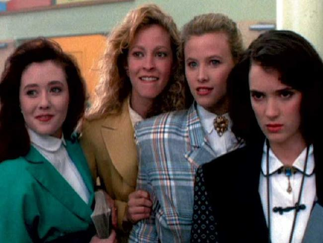 The film Heathers from 1989 showed how popular the name was. Picture: Supplied