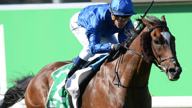 Folkswood comfortably takes out the Cranbourne Cup. Picture: AAP