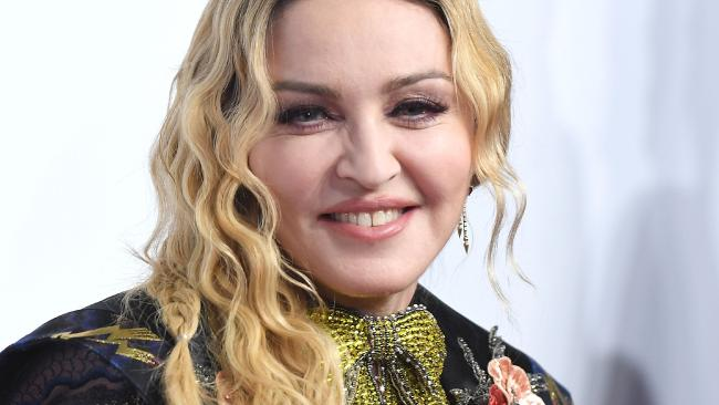 Madonna has been a fan of facial fillers for many years. Picture: Angela Weiss/AFP