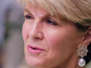 Julie Bishop's explosive interview