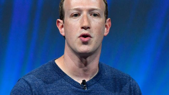 Facebook CEO Mark Zuckerberg said the network is better prepared to defend against efforts to manipulate the platform and influence elections. Picture: Gerard Julien / AFP