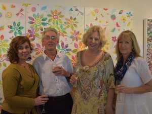 Rosemary Keating, David Arthy and Jilly and Julie
