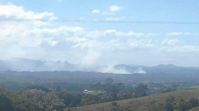 Crews called to grass fire on North Coast