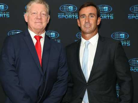 Andrew Johns just likes to laugh.