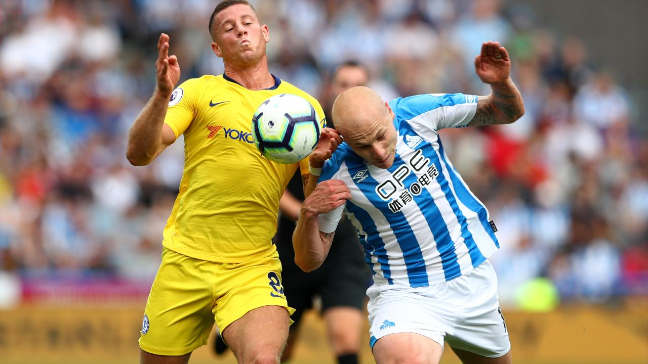 Aaron Mooy's form has been a real positive for Huddersfield. Picture: Getty