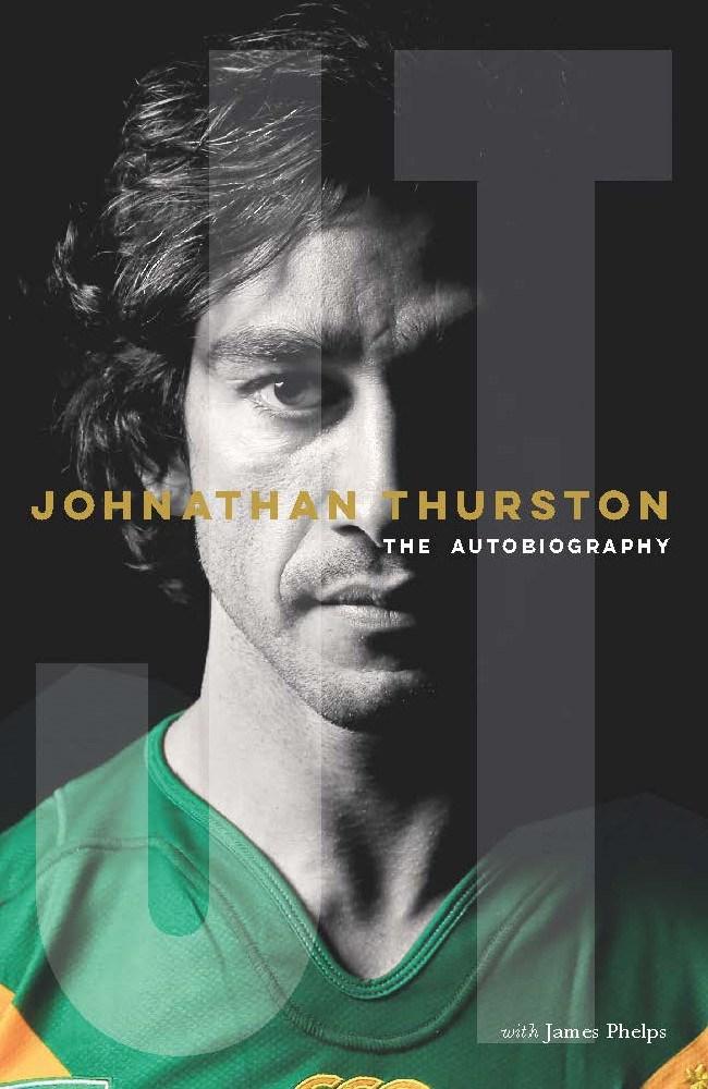 Johnathan Thurston's autobiography written by James Phelps.