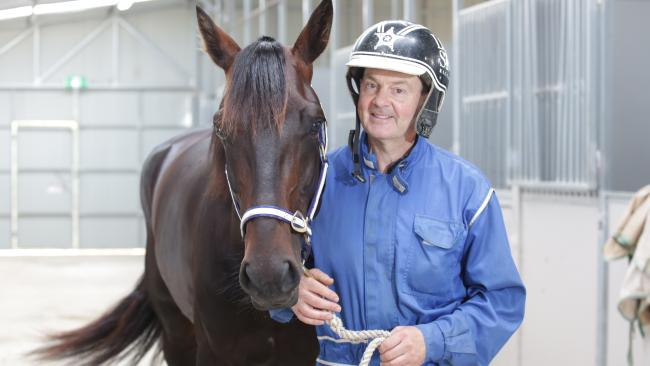Lazarus and champion driver Mark Purdon.