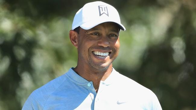 Tiger Woods is on fire at the Tour Championship.