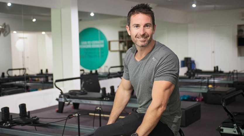 In just eight years, Melbourne man Aaron Smith has turned a $20,000 debt and a $129,000 business loan into a $20 million pilates franchise. Picture: Supplied