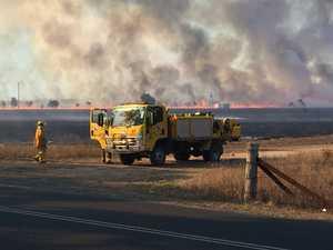 UPDATE: Sixteen fire crews work to contain Fairymead blaze