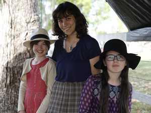 Daisy Watters, Mala Cassiano-Pike and Ruby Watters at