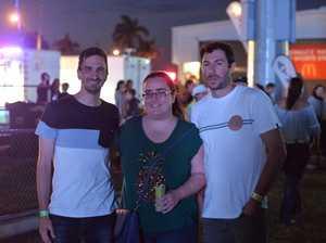 Damien Vassallo, Cas Garvey and Tristan Shalhoub