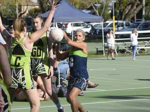 Action from the Grafton Netball Association A Grade