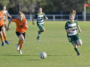 Western Pride v Easts in the u13 girls NPL Grand