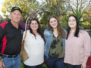 ( From left ) Michael Hartin, Desley Hartin, Amelia