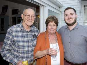 ( From left ) Angus Lucas, Carmel Lucas, Daniel