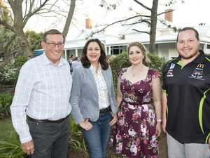 Premier's casual pre-Cabinet barbecue in Toowoomba