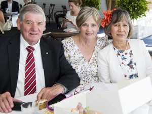 ( From left ) John McDonald, Joan McDonald, Cecile