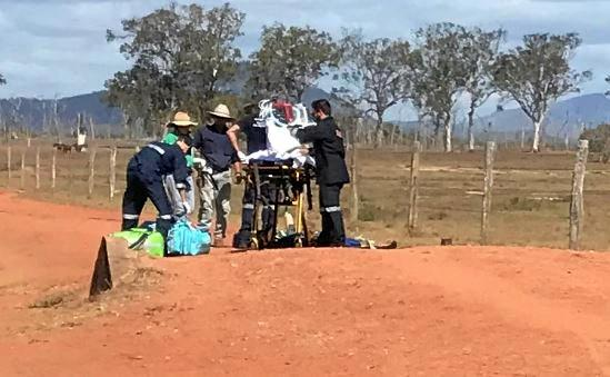 Stockman seriously hurt in CQ cattle property accident