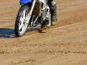 Joyride to ambulance ride after motorbike crash