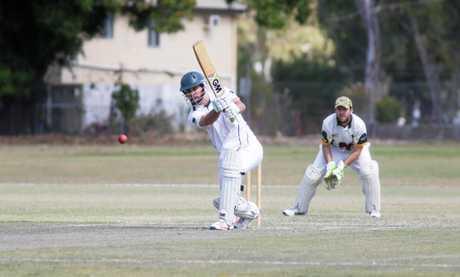 Cricket: Frenchville's Luke Taylor.