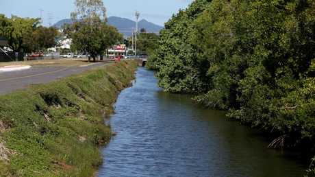 Part of Smiths Creek. PICTURE: STEWART MCLEAN