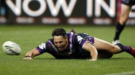 Billy Slater's last chance at glory may have passed. (AAP Image/Daniel Pockett)