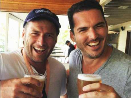 Karl Stefanovic's boozy slagging off of co-host Georgie Gardner, embarrassingly captured in the back of an Uber he was sharing with brother Peter, also hurt his image. Picture: Instagram