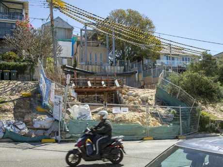 Rove's dump site.
