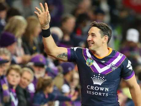 Was the preliminary final Billy Slater's last game?