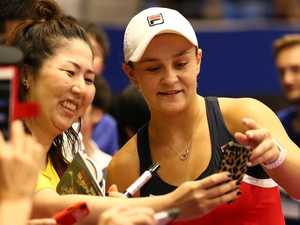 Barty faces a wall of greats in China