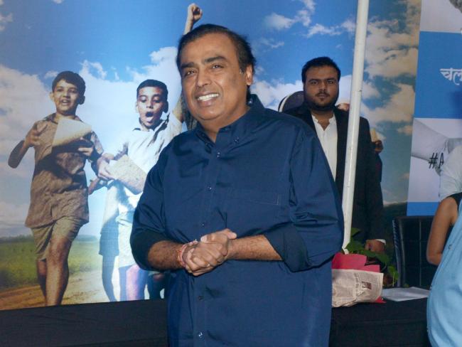 Mukesh Ambani. Picture: Milind Shelte/India Today