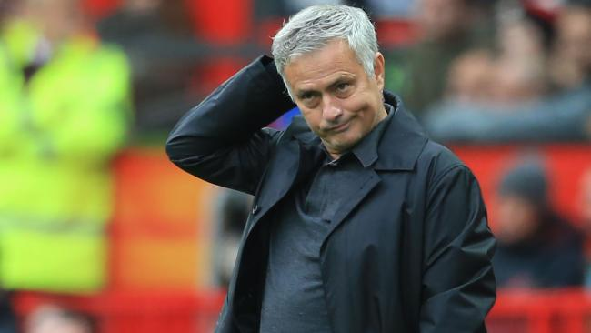 Jose Mourinho is under increasing pressure after the draw at Old Trafford. Picture: AFP
