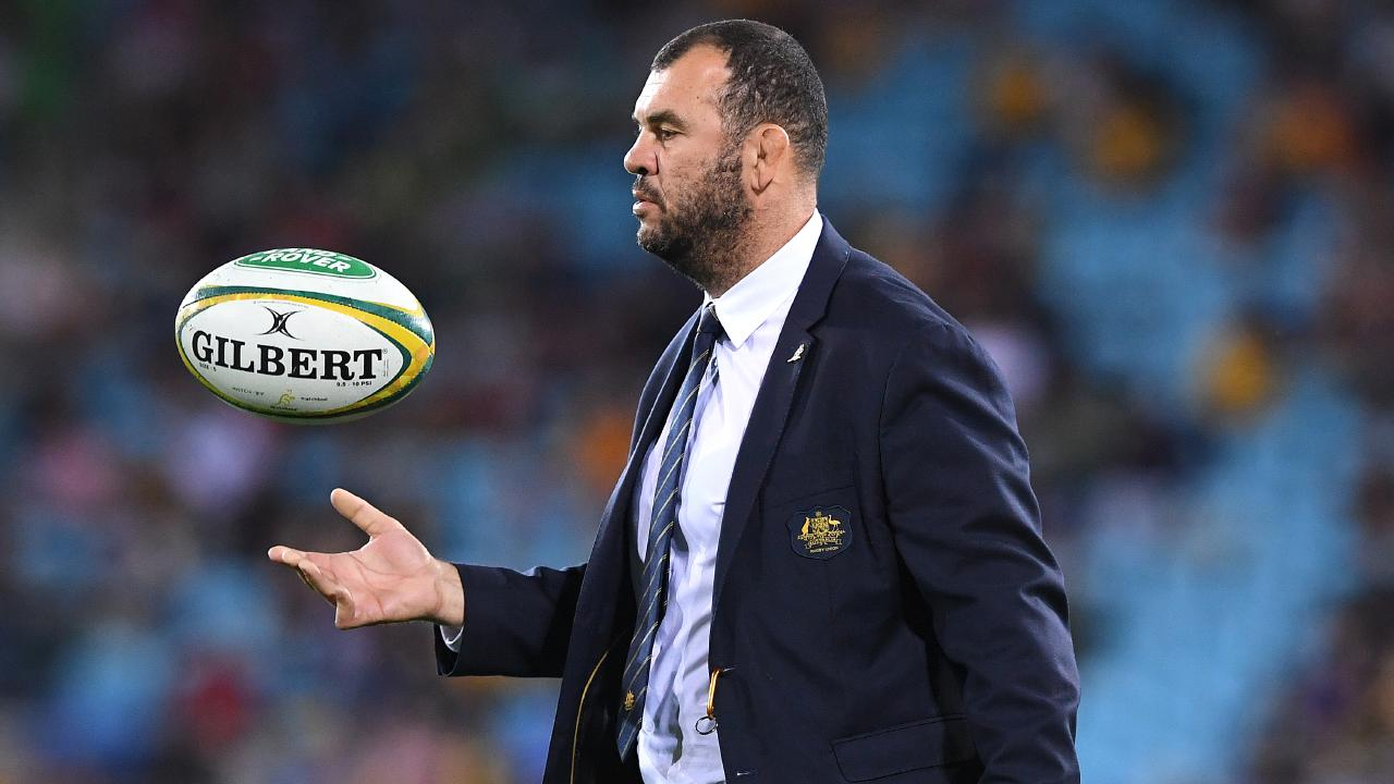 Rugby Australia has backed Wallabies coach Michael Cheika's plan for next year's Rugby World Cup. Picture: AAP