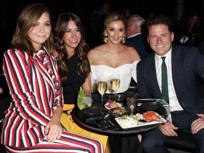 Karl Stefanovic used to appeal to women and families, but his new life of socialites hobnobbing, red carpets and exotic trips with his girlfriend every other week have hurt that. Picture: Christian Gilles