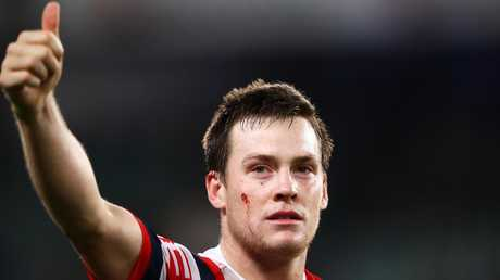 Luke Keary is focused on the job ahead. (Photo by Mark Kolbe/Getty Images)